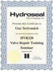 Hydroseal training
