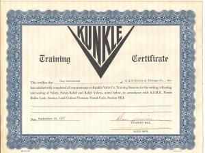 Kunkle Training