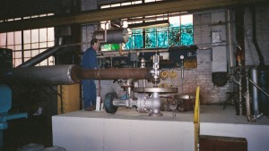 Steam Boiler Test Stand